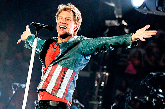 Bon Jovi Salon de la Fama del Rock and Roll