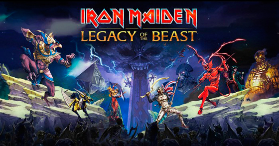 Iron Maiden videojuego Legacy of the Beast