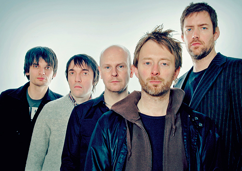 Radiohead Salon de la Fama Rock and Roll