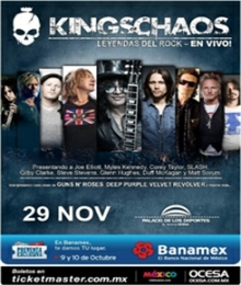 Kings Of Chaos en México
